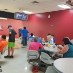 Teams bowl for mammograms!